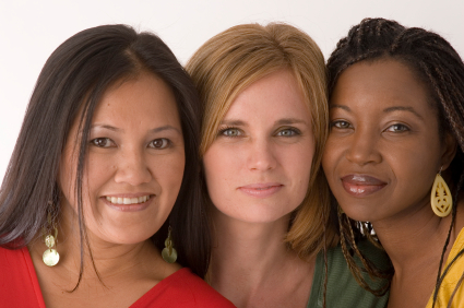 group-diverse-women